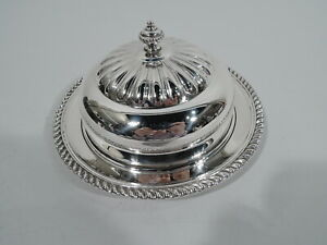 Birks Butter Dish - 48/19 - Georgian Covered - Canadian Sterling Silver - 1950