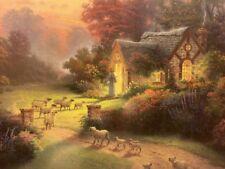 Thomas Kinkade The Good Shepherd's Cottage - Framed Large LE Print 550/1000 G/P