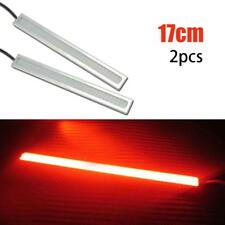 2Pcs 12V LED COB Auto DRL Daytime Running Light Fog Driving Lamp Waterproof Red