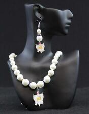 Sigma Gamma Rho Pearl Necklace and Earrings !!