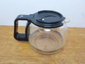 Melitta Gevalia Kaffe BCM-4 Coffee Maker CARAFE & LID, BLACK