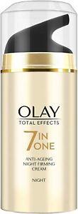 Olay Total Effect 7 in 1 Anti Ageing Night Cream Lightening cream Skin Care 20g