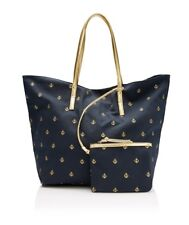 Sportsgirl Anchor Print Tote Bag 038013 Navy With Tags
