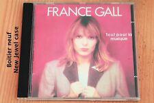 France Gall - Tout pour la musique Vahiné Diego ... 9 titres - Boitier neuf - CD