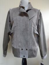 Braetan Beige Suede Leather Jacket Coat Sz M NWT Very Nice!