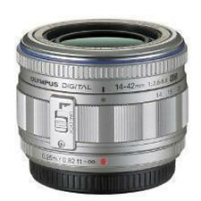 Near Mint Olympus Micro 4/3 M.Zuiko Digital 14-42mm f/3.5-5.6 L ED Silver  F/S