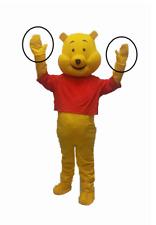 Winnie the Pooh HANDS Adult Mascot Costume Halloween Birthday Gloves Mittens