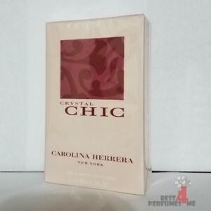 Crystal Chic by Carolina Herrera 2.7 oz EDP 80ml Women's Eau de Parfum Rare!