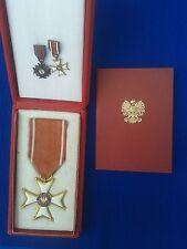 Polonia Restituta 1944 - SET- Order Odrodzenia Polski 1944 - Komplet