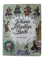 Johann Sebastian Bach by Reba Mirsky HC 1965 3rd Printing