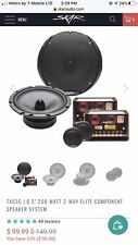 """Skar Audio TX65C 6.5"""" 200 Watt 2-Way Elite Component Speakers"""