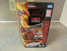 TRANSFORMERS KINGDOM WAR FOR CYBERTRON VOYAGER INFERNO