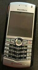 BlackBerry Pearl 8100 Silver Cell Phone Vintage Fast Shipping Very Good Used