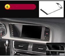 Carbon Fiber Dashboard Instrument Panel NAVI Trim pour Audi A4 S4 A5 S LINE A06
