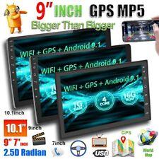 "2 DIN  Android 9.1 GPS NAVI 9"" AUTORADIO BT USB Link specchio WIFI 2.5D Schermo"