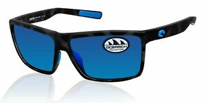 Costa Del Mar Rinconcito Ocearch Tiger Shark Blue Mirror 580 Glass Lens