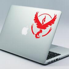 "POKEMON GO TEAM VALOR Apple MacBook Decal Sticker 11"" 12"" 13"" 15"" & 17"" models"