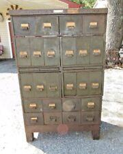 Vintage Large Industrial Drawer Parts Cabinet Machine Shop Storage Steampunk