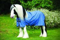 "Horseware Amigo HERO XL 600d TURNOUT Rug Lightweight 0g Blue 5'9""-7'6"""