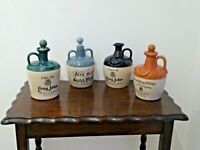 Choice Of Empty Vintage Scotch Whisky Stoneware Flagons.