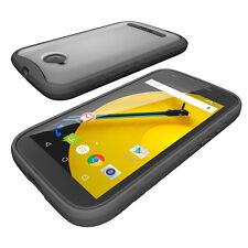 Case For Motorola Moto E 2nd Gen Poetic【Affinity】Corner Protection Case Black