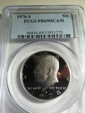 1978 S 50C Kennedy Half Dollar Proof PCGS PR69DCAM