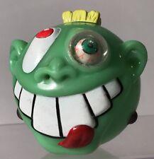Jaru Wacky Ball Green Squirt Head Mohawk Eyeball Buck Tooth Frankenstein Madball