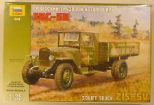 Zvezda 1/35 Soviet Truck ZIS-5V Model Kit 3529