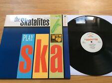 The Skatalites play ska  lp reissue ska