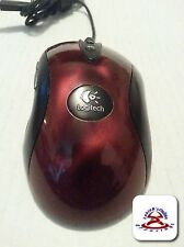 Logitech MX™510 Performance Optical Mouse USB wired - Red Tested works great