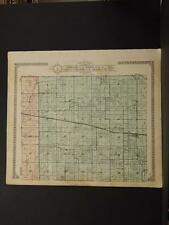 Missouri Audrain County Map Wilson North or South Township 1918 Dbl Sde K11#13