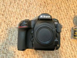 Nikon D850 45.7 MP Digital SLR Camera - Black (Body Only)