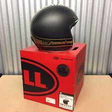 Genuine Bell Custom 500 CARBON RSD BOMB Helmet Small Roland Sands Design