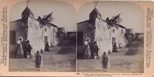 ROME ROMA Via Appia Italie Italia Stereo Vintage albumine 1897