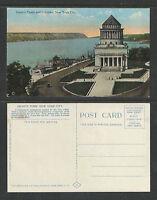 1910s GRANTS TOMB AND PALISADES NEW YORK NY POSTCARD