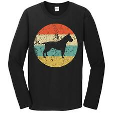 American Staffordshire Terrier Shirt - Retro Amstaff Long Sleeve T-Shirt