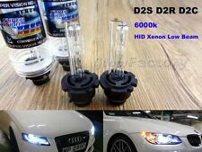 2x HID Xenon 6000K D2S D2R for Osram or Philips Headlight High And Low Beam Bulb