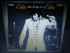 ELVIS PRESLEY RARE THATS THE WAY IT IS WHITE LABEL LP NEAR MINT