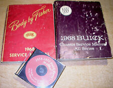 1968 Buick Service Manual & Body/Parts CD Gran Sport Sportwagon LeSabre Special