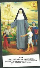 Estampa Beata Maria Ana andachtsbild santino holy card santini