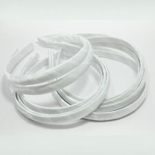 12 WHOLESALE LOTS HEADBANDS HAIR ACCESSORY PLASTIC 15mm