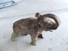 BIG Vintage Cast Iron Elephant Bank LOOK