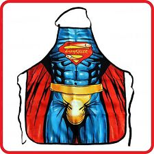 APRON-FUNNY-SEXY LADYKILLER SUPERHERO MUSCLE MAN-BIG WILLY DICK COCK PENIS-COOK