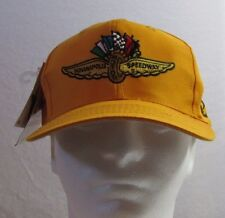Indianapolis Motor Speedway Logo Athletic Yellow Snapback Cap / Hat