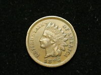 BEAUTIFUL EXTRA FINE 1886 INDIAN HEAD CENT PENNY w/ DIAMONDS & FULL LIBERTY 251v