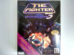 Factory-Sealed Star Wars: Tie Fighter (Collector's CD-ROM) PC Game Big Box 1995