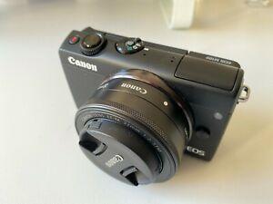 Canon EOS M100 + obiettivi: EF-M 15-45mm IS STM / EF-M 22mm STM / CCTV lens 35mm