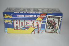1991 MINT Hockey Topps Official Complete Set 528 Cards