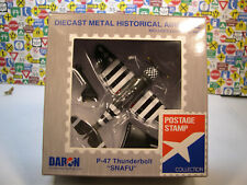 WWII P-47 THUNDERBOLT SNAFU DARON 1:100 SCALE DIECAST DISPLAY MODEL AIRPLANE