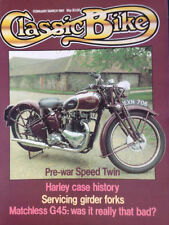 Every Two Month February Classic Bike Magazines